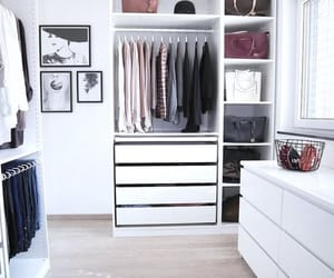 closets, colors, and fashion image