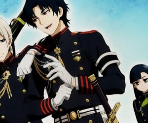 anime, guren, and handsome image