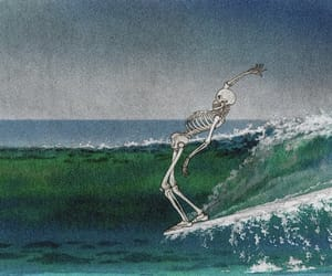 surf, art, and sea image