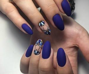 belleza, nail, and manicura image