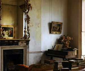 antique, interior, and photography image