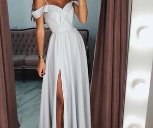 dress, fashion, and relax image