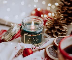 candle, christmas, and photography image