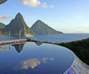 Caribbean, travel, and view image