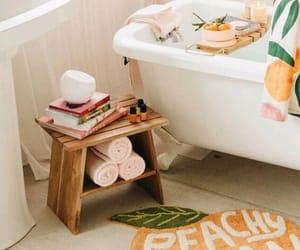 bathroom, body care, and decor image