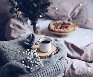 coffee, light, and cozy image