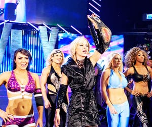 wwe, layla el, and michelle mccool image