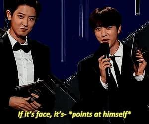 exo, gif, and jin image