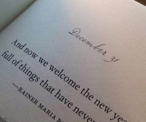 quotes, new year, and book image