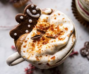 christmas, coffee, and drink image