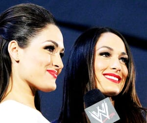 nikki bella, wwe, and bella twins image