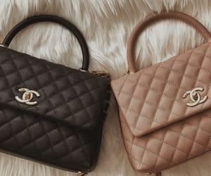 black, chanel, and hand bag image