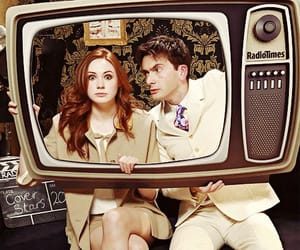 doctor who, david tennant, and karen gillan image