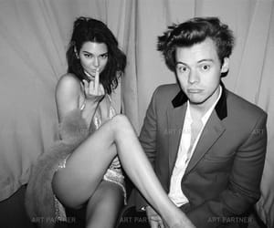 Harry Styles, kendall jenner, and couple image