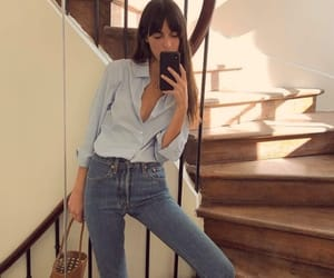 fashion, jeans, and house image