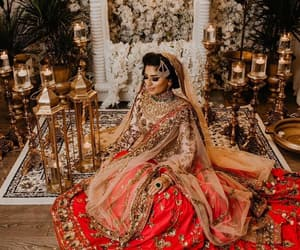 bride, india, and indian image