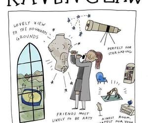 hogwarts, ravenclaw house, and ravenclaw image