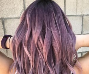 colors, girl, and hair image