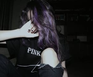 alternative, grunge, and hair image