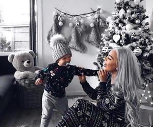 christmas, girl, and baby image