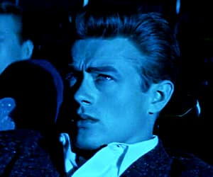 james dean, blue, and gif image