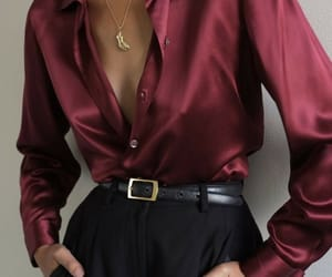 belt, silk, and clothes image