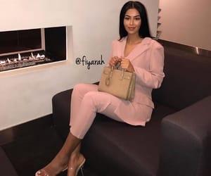 high heels heel, sac bag bags, and meuf frappe girl image