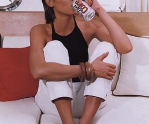black, couch, and coca cola image