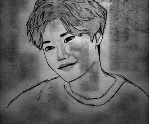 actor, black and white, and leejongsuk image