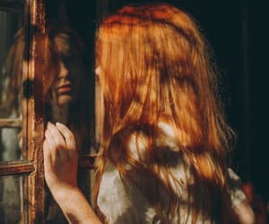 ginger, hair, and aesthetic image