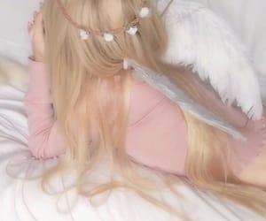 aesthetic, angelic, and girl image