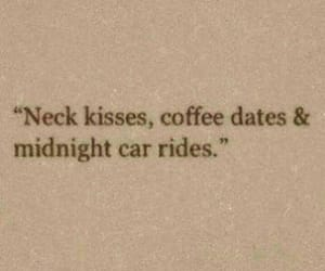 love, kiss, and coffee image
