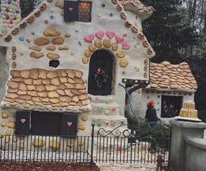 candy, gingerbread, and house image