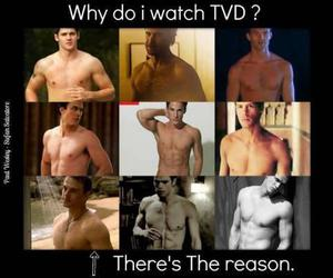 boy, Vampire Diaries, and Hot image