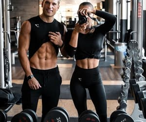 fitness, gym, and abs image
