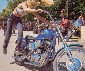 70s, bike, and harley davidson image