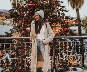 fashion, christmas, and girl image