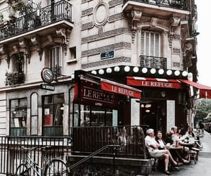 architecture, france, and paris image