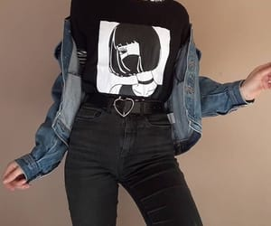 clothes, outfits, and grunge image