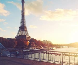 paris, Seine, and tour eiffel image