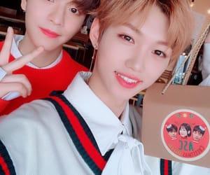 felix, seungmin, and stray kids image