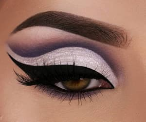 eyebrows, eyeshadow, and makeup image