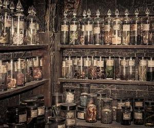 harry potter, hogwarts, and potion image