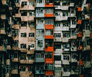 architecture, hong kong, and photography image