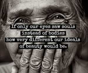 souls, woman, and elderly woman image