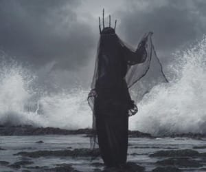 Queen, dark, and sea image