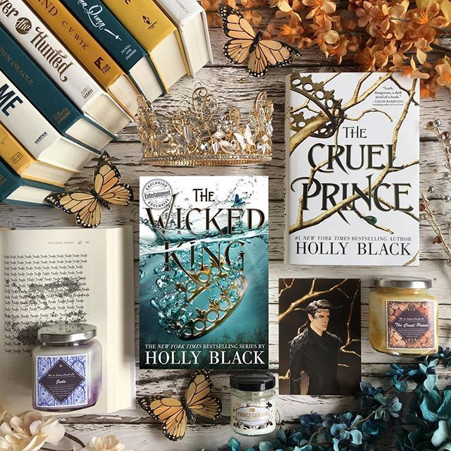 books, holly black, and the cruel prince image