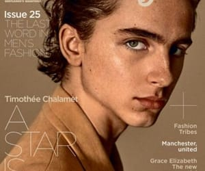 model and timothee chalamet image