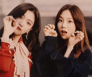 red velvet, snsd, and taeyeon image