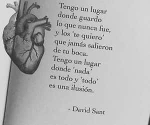heart, love, and frases image